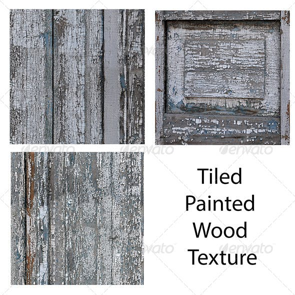 Tiled Painted Wood Textures - 3DOcean Item for Sale