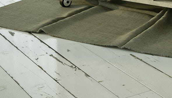 White painted vintage wood floor  - 3DOcean Item for Sale