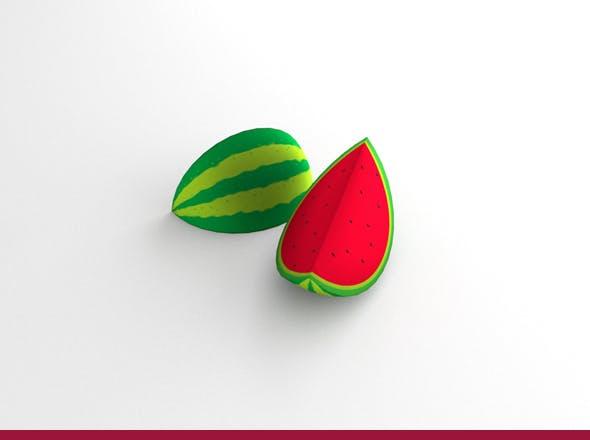Watermelon - 3DOcean Item for Sale