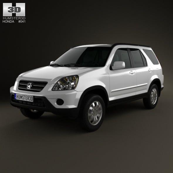 Honda CR-V 2002 - 3DOcean Item for Sale