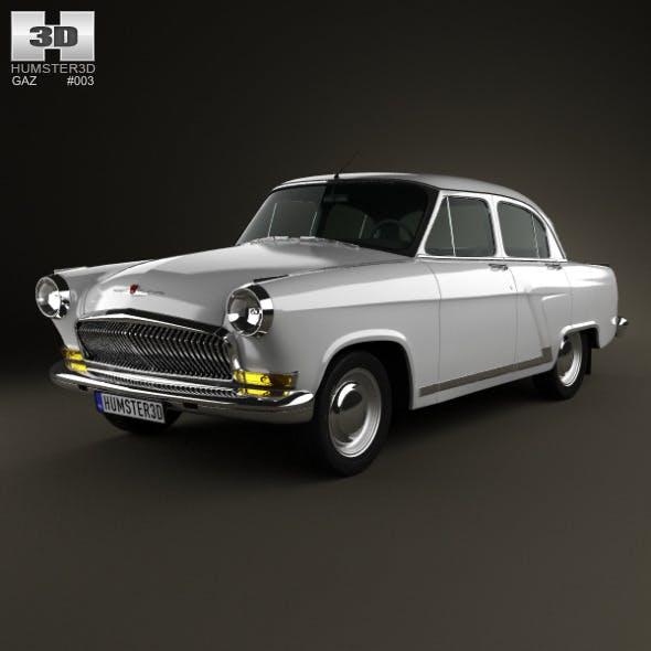 GAZ 21 Volga 1962