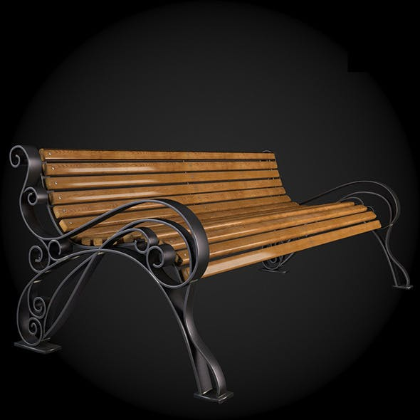 Bench 006 - 3DOcean Item for Sale