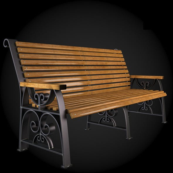 Bench 008 - 3DOcean Item for Sale