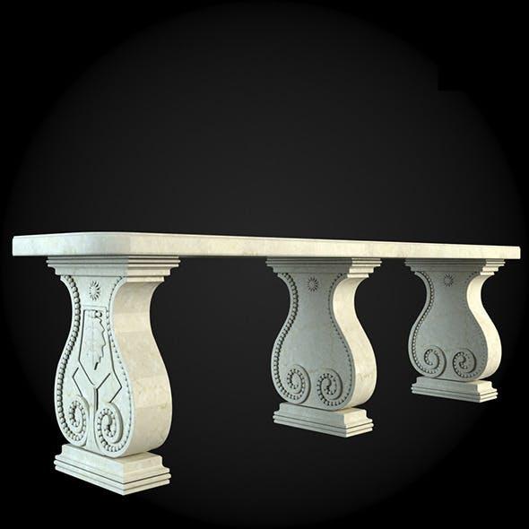 Bench 013 - 3DOcean Item for Sale