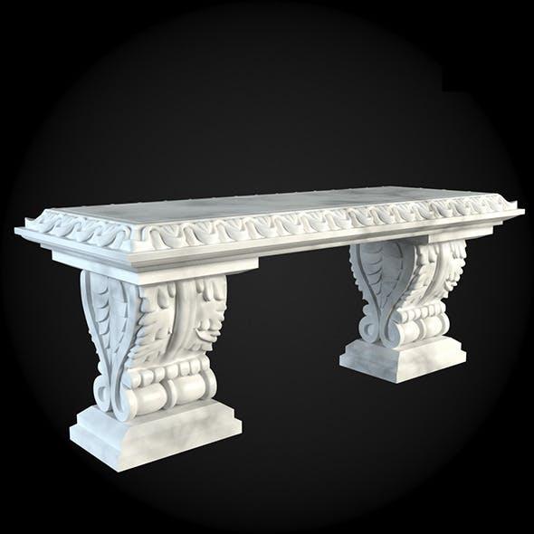 Bench 014 - 3DOcean Item for Sale