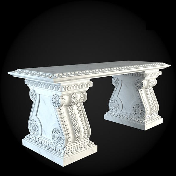 Bench 015 - 3DOcean Item for Sale