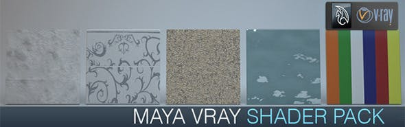 Vray for Maya shader pack - 3DOcean Item for Sale