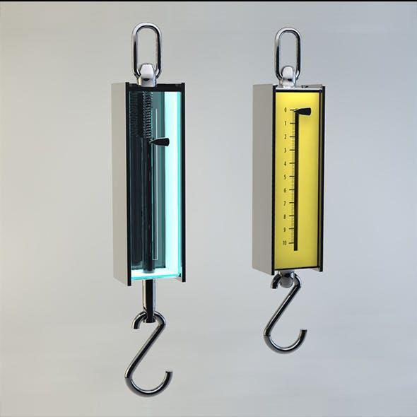 dynamometer - 3DOcean Item for Sale
