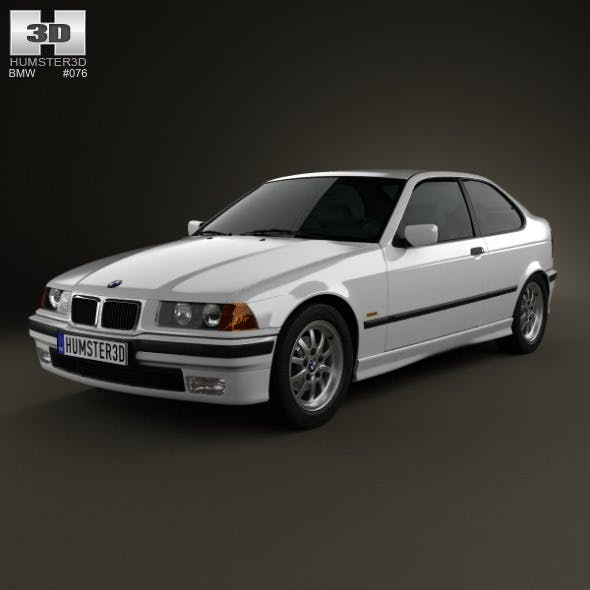 BMW 3 Series (E36) compact 1994 - 3DOcean Item for Sale