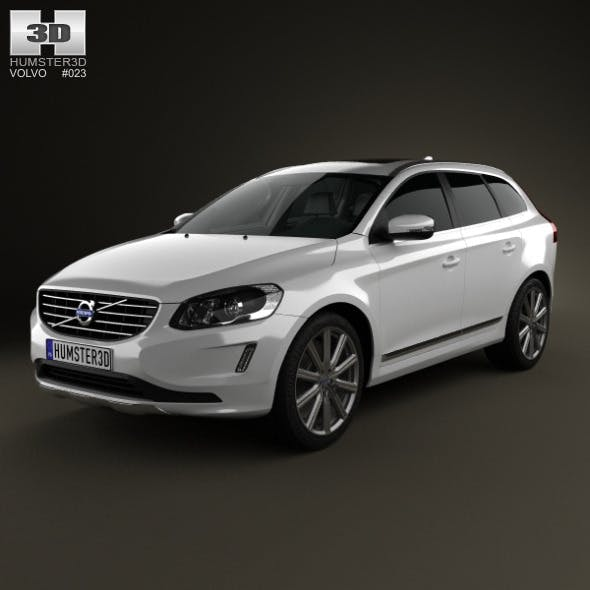 Volvo XC60 2014 - 3DOcean Item for Sale