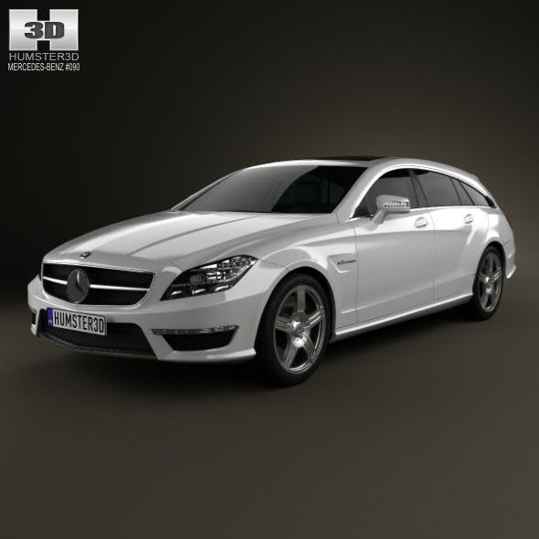 Mercedes-Benz CLS-Class 63 AMG Shooting Brake 2013