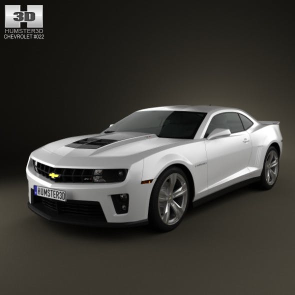 Chevrolet Camaro ZL1 2011 - 3DOcean Item for Sale