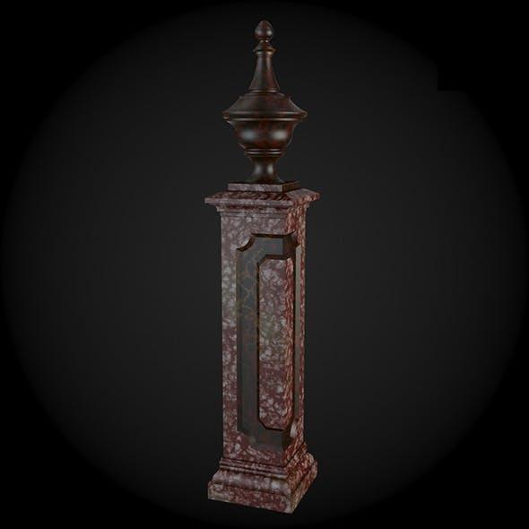 Pedestal 007 - 3DOcean Item for Sale