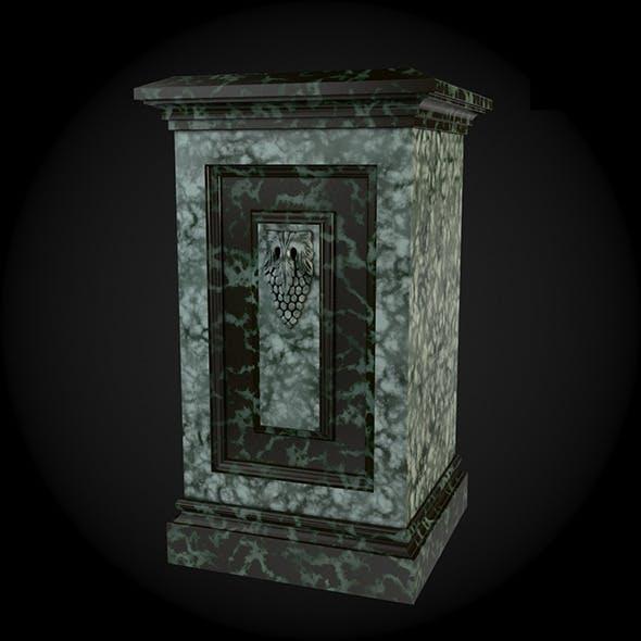 Pedestal 010 - 3DOcean Item for Sale