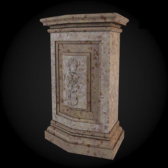 Pedestal 012 - 3DOcean Item for Sale