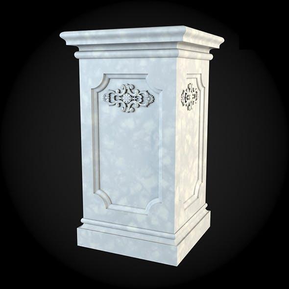 Pedestal 018
