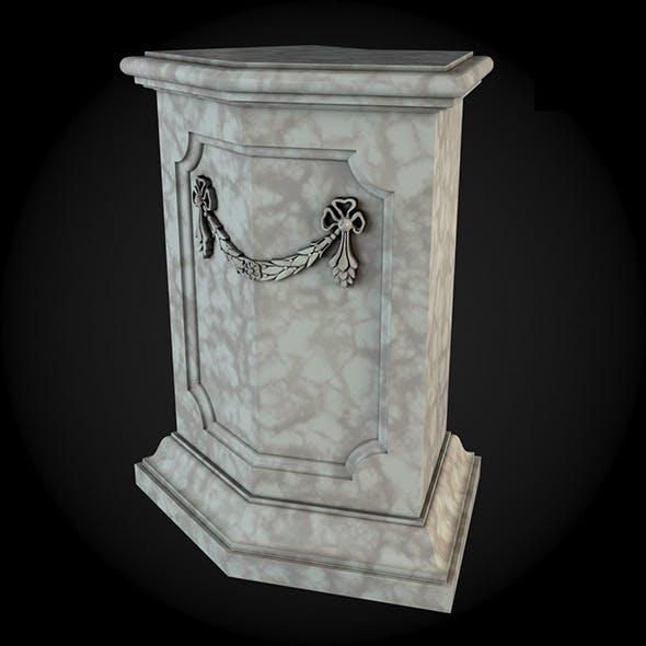 Pedestal 020 - 3DOcean Item for Sale