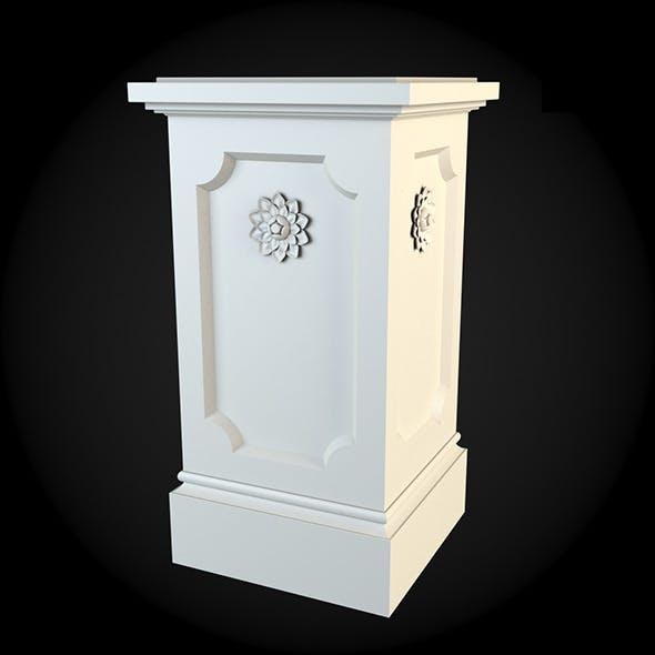Pedestal 022 - 3DOcean Item for Sale