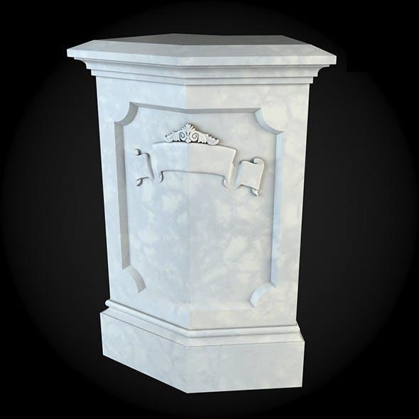Pedestal 024 - 3DOcean Item for Sale