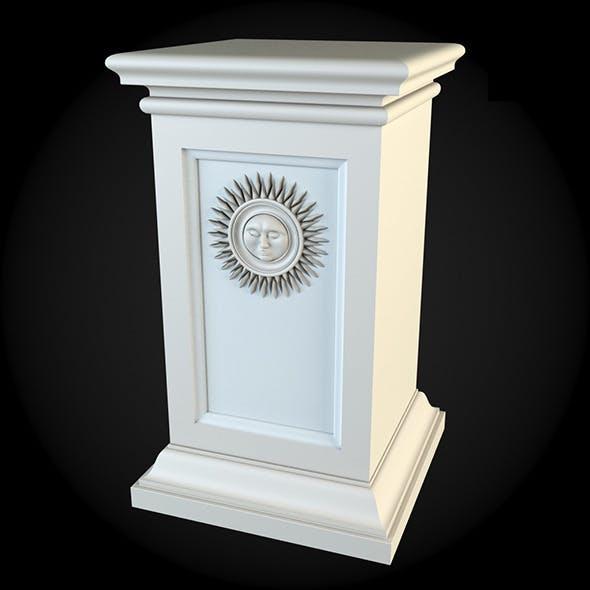Pedestal 025