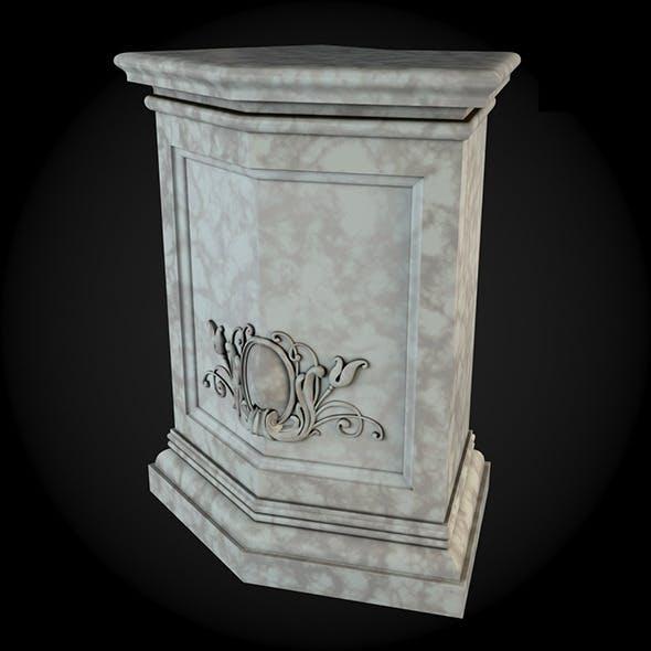 Pedestal 028 - 3DOcean Item for Sale