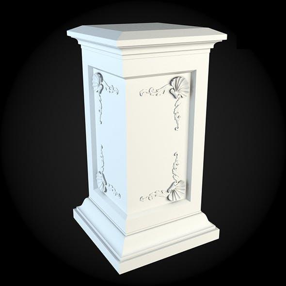 Pedestal 031 - 3DOcean Item for Sale