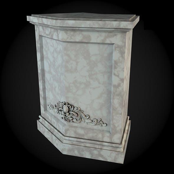 Pedestal 032 - 3DOcean Item for Sale