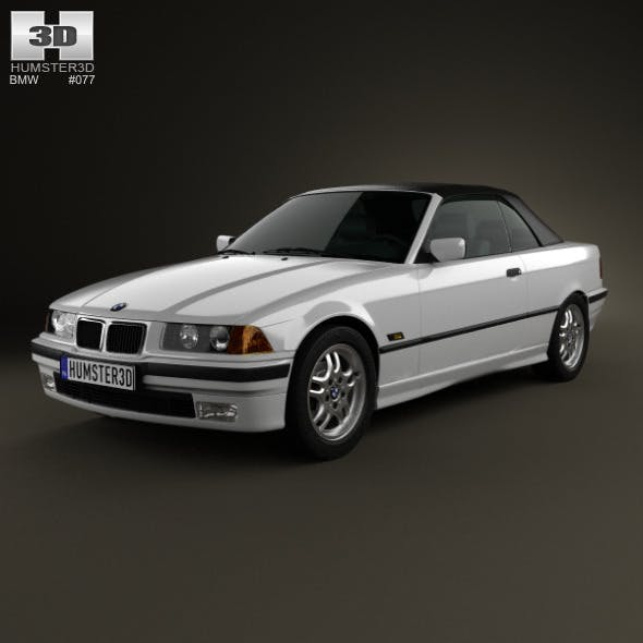 BMW 3 Series (E36) convertible 1994 - 3DOcean Item for Sale