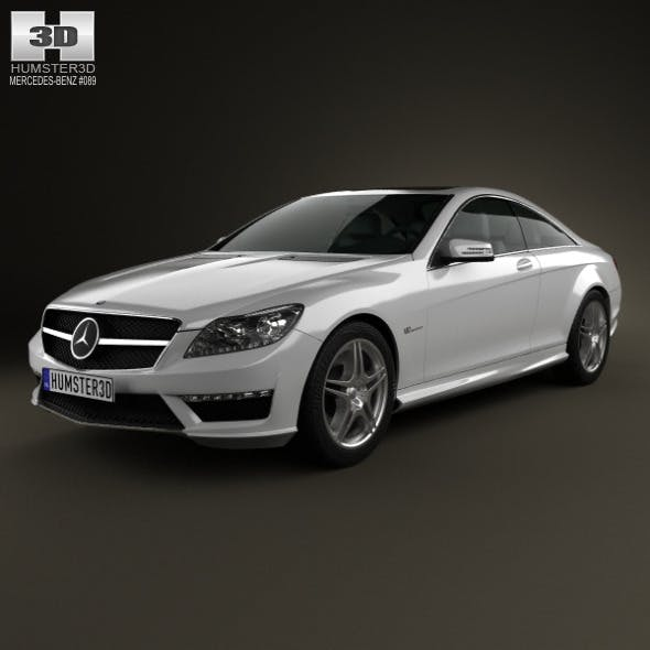 Mercedes-Benz CL-Class 65 AMG 2012 - 3DOcean Item for Sale