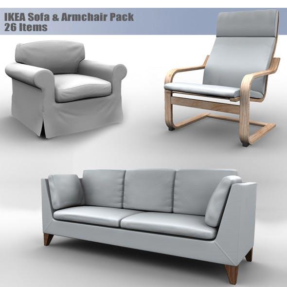 IKEA Sofa & Armchair Pack