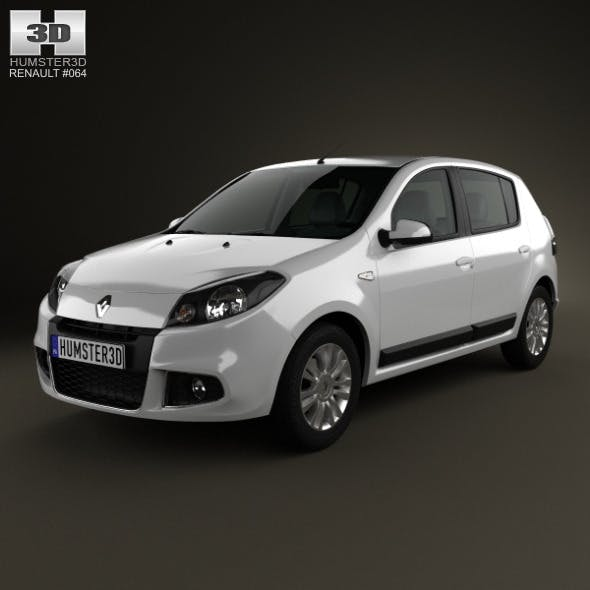 Renault Sandero (BR) 2011 - 3DOcean Item for Sale