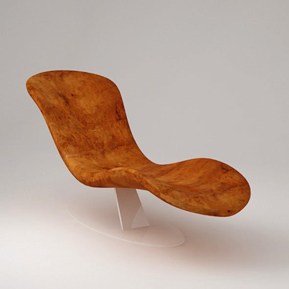 Lounge Chair Relax - 3DOcean Item for Sale
