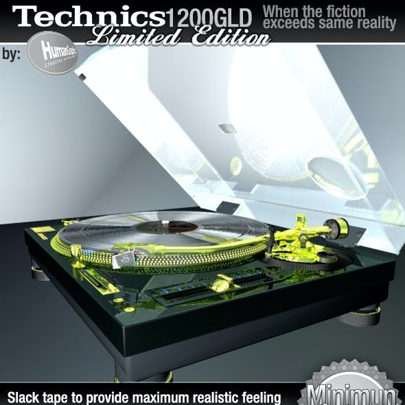 Realistic Turntable Technics SL1200GLD