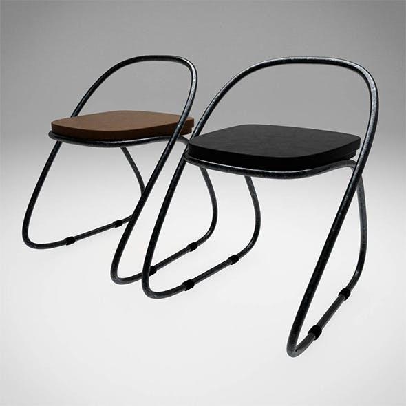Xanne Chair - 3DOcean Item for Sale