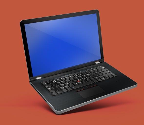 High poly model Laptop - 3DOcean Item for Sale