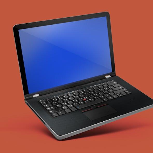High poly model Laptop