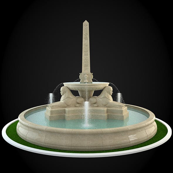 Fountain 043 - 3DOcean Item for Sale