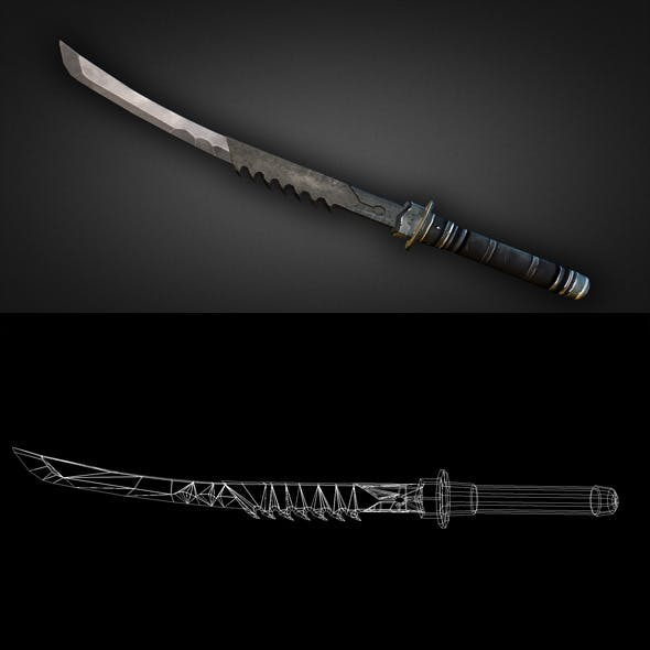 Sword 12 - 3DOcean Item for Sale