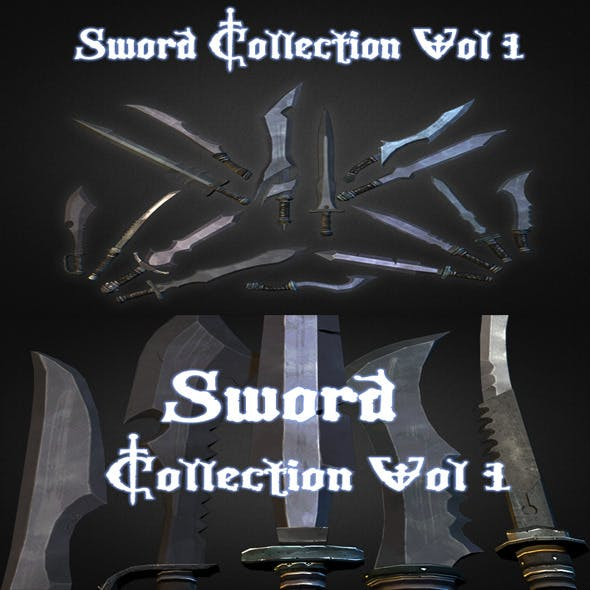 Sword Collection Vol. 1 - 3DOcean Item for Sale