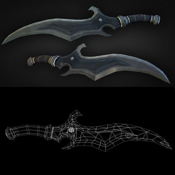 Dagger 09 - 3DOcean Item for Sale