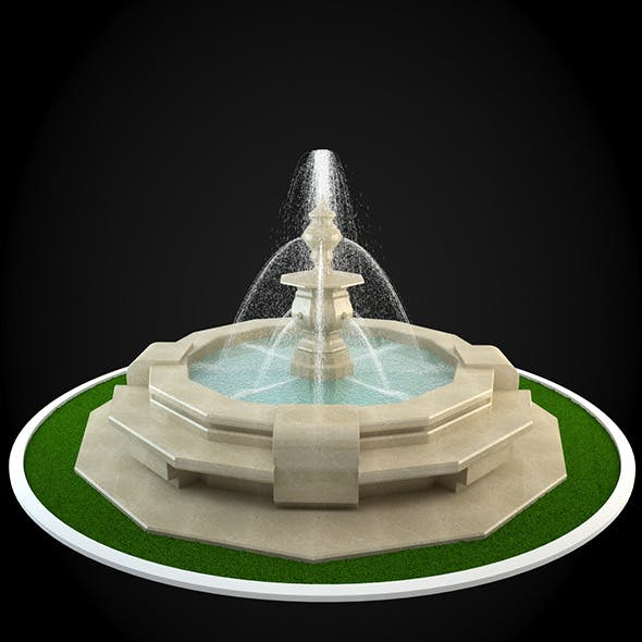 Fountain 059 - 3DOcean Item for Sale