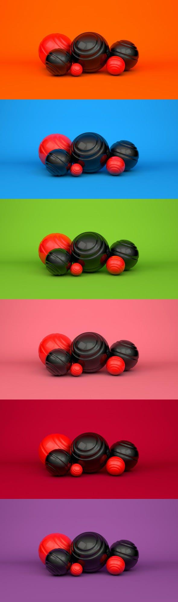 Professional editable colour studio - 3DOcean Item for Sale