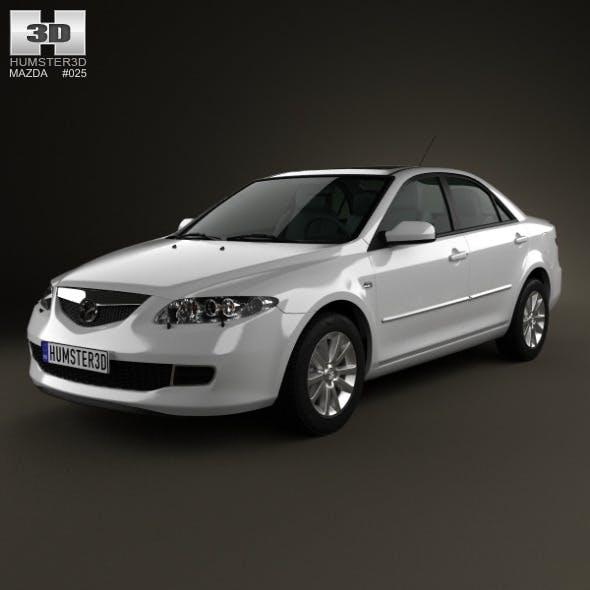 Mazda 6 sedan 2002 - 3DOcean Item for Sale