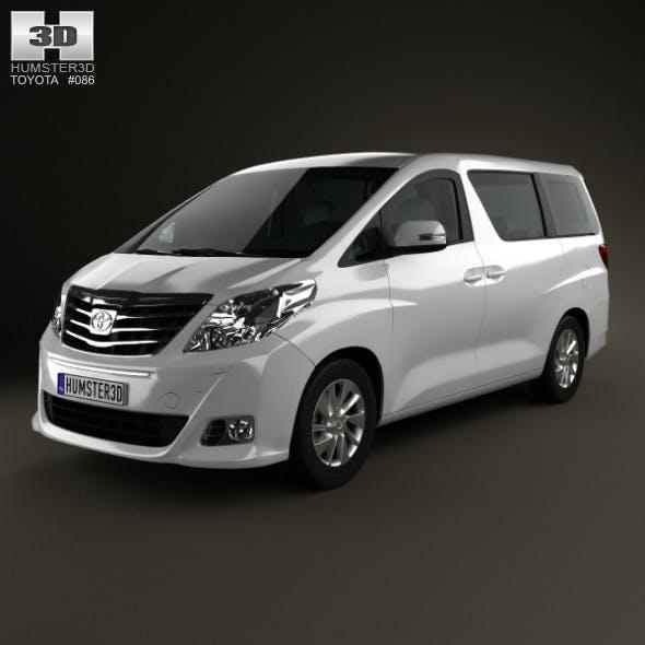Toyota Alphard 2012