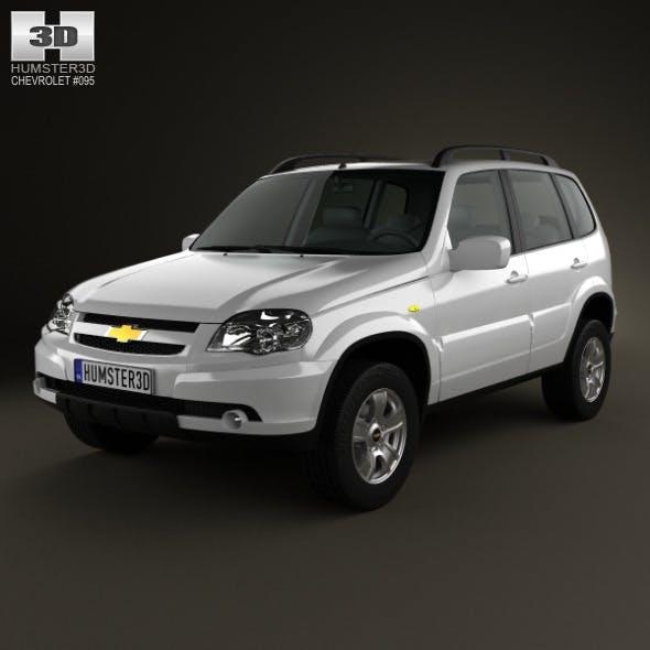 Chevrolet Niva 2012 - 3DOcean Item for Sale