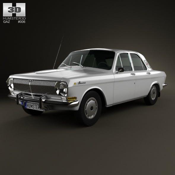GAZ 24 Volga 1967 - 3DOcean Item for Sale
