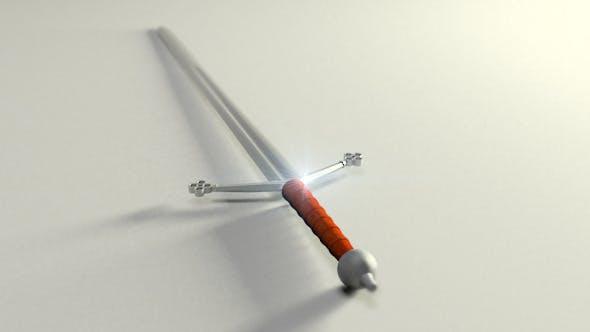 Claymore Sword - 3DOcean Item for Sale