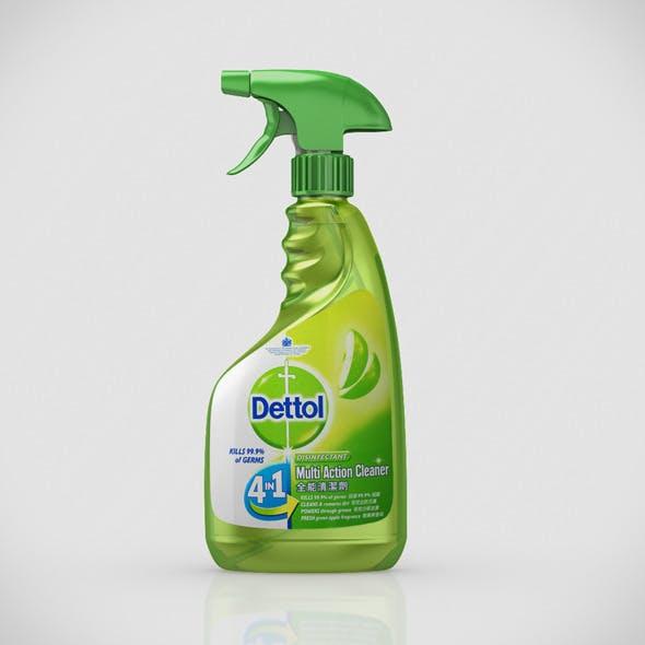 Dettol multi action cleaner - 3DOcean Item for Sale