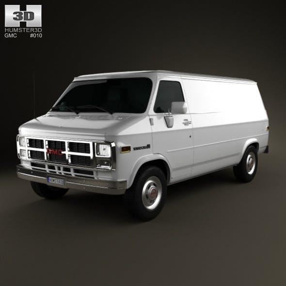 GMC Vandura Panel Van 1992 - 3DOcean Item for Sale