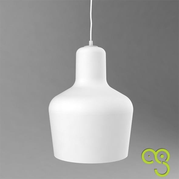 Alvar Aalto pendent lamp A440  - 3DOcean Item for Sale